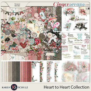 Heart to Heart Collection by Karen Schulz