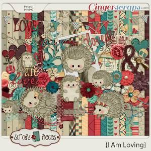 I am Loving kit by Scraps N Pieces