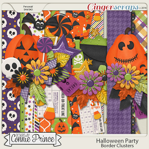 Halloween Party - Border Clusters