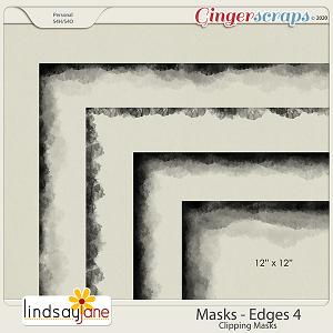 Masks Edges 4 by Lindsay Jane