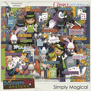 Simply Magical by BoomersGirl Designs