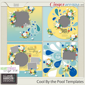 Cool By the Pool Templates by Aimee Harrison and HSA