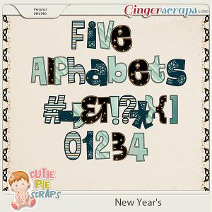 New Year's Alphabets