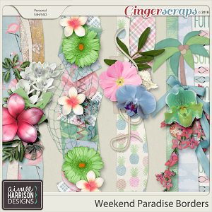 Weekend Paradise Borders by Aimee Harrison