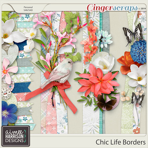 Chic Life Borders by Aimee Harrison