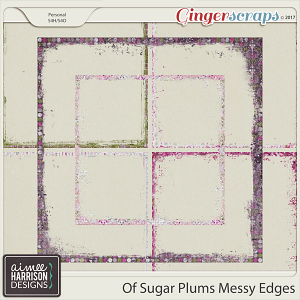 Of Sugar Plums Messy Edges by Aimee Harrison