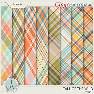 Call Of The Wild Plaids by Ilonka's Designs