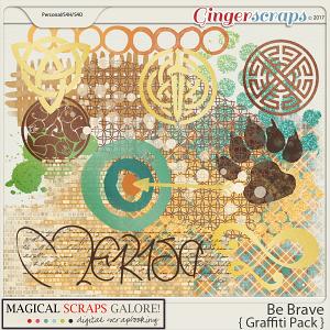 Be Brave (graffiti pack)