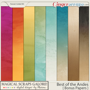 Best of the Andes (bonus papers)