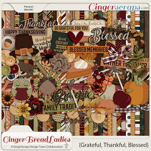GingerBread Ladies Monthly Mix: Grateful, Thankful, Blessed