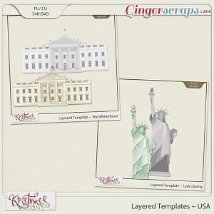 CU Layered Templates ~ USA