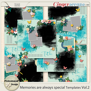 Memories are always special Templates Vol.2