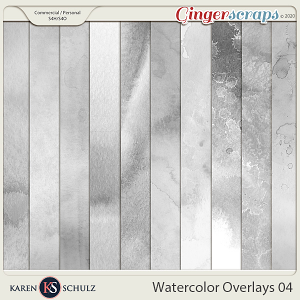 Watercolor Overlays 04 by Karen Schulz