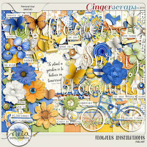 Flowers Inspirations - Kit - by Neia Scraps