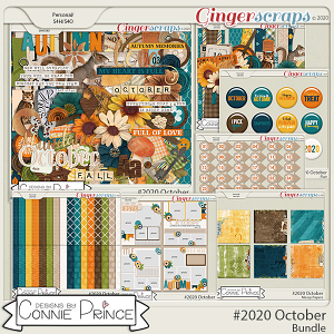 #2020 October - Bundle Collection by Connie Prince