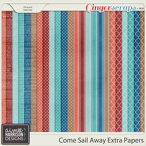 Come Sail Away Extra Papers by Aimee Harrison
