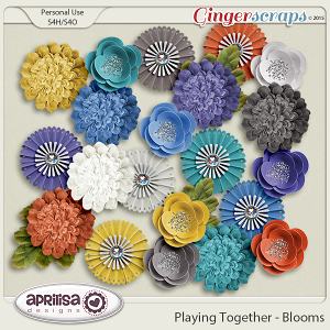 Playing Together - Blooms