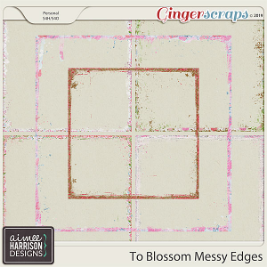 To Blossom Messy Edges by Aimee Harrison