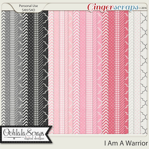 I Am A Warrior Pattern Papers