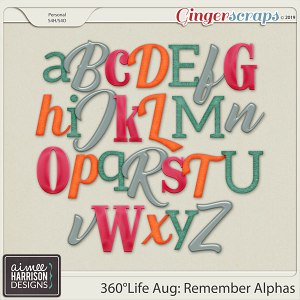 360°Life Aug: Remember Alpha Sets by Aimee Harrison