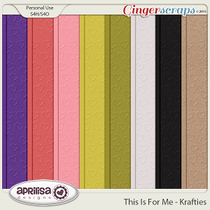 This Is For Me - Krafties by Aprilisa Designs