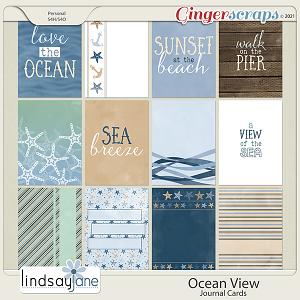 Ocean View Journal Cards by Lindsay Jane