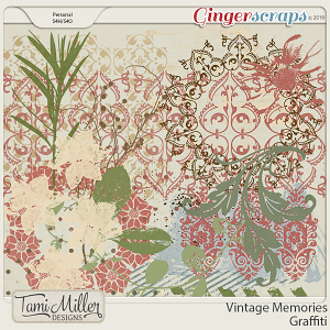 Vintage Memories Graffiti by Tami Miller Designs