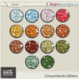 Canyonlands Glitters by Aimee Harrison