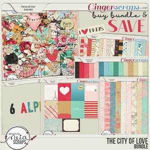 On Location: The City of Love - Bundle - by Neia Scraps