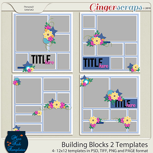 Building Blocks 2 Templates by Miss Fish