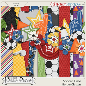 Soccer Time - Border Clusters