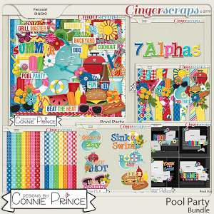 Pool Party - Bundle by Connie Prince