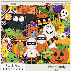 I Want Candy Kit