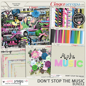 Don't Stop the Music - Bundle - by Neia Scraps