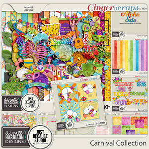 Carnival Collection by Aimee Harrison and JB Studio