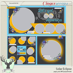 Solar Eclipse by Dear Friends Designs
