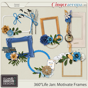 360°Life Jan: Motivate Frame Clusters by Aimee Harrison