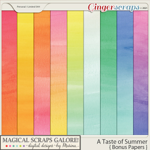 A Taste of Summer (bonus papers)