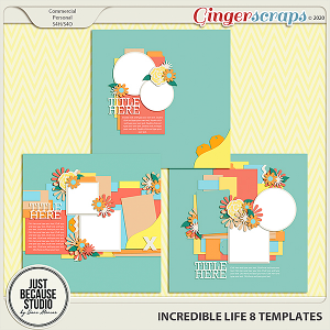 Incredible Life 8 Templates By JB Studio