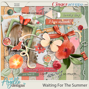 Waiting For The Summer by Angelle Designs