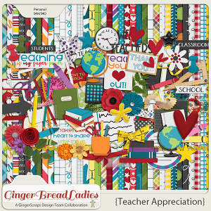 GingerBread Ladies Collab: Teacher Appreciation