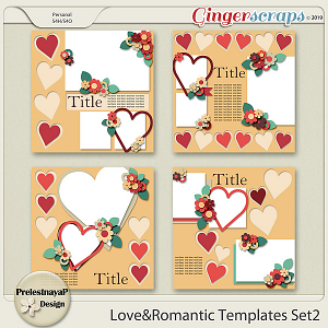 Love&Romantic Templates Set2