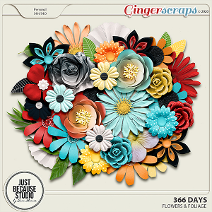 366 Days Flowers by JB Studio