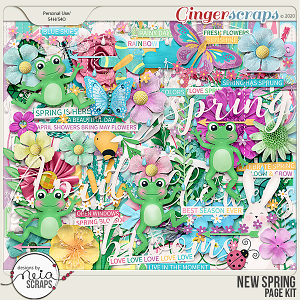 New Spring - Page Kit - by Neia Scraps