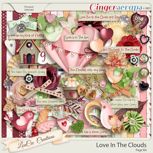 Love In The Clouds by LouCee Creations