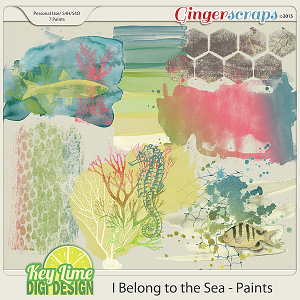 I Belong to the Sea - Paints