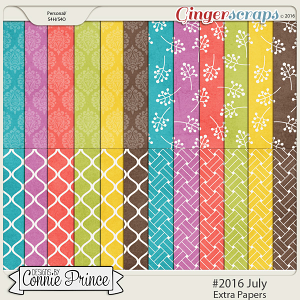 #2016 July - Extra Papers