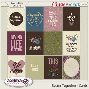 Better Together - Cards by Aprilisa Designs