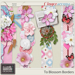 To Blossom Borders by Aimee Harrison