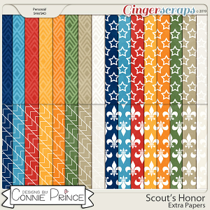 Scout's Honor - Extra Papers by Connie Prince
